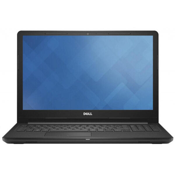 Laptop Dell Inspiron 3576 (seria 3000), Intel Core i3-7020U, 4 GB, 1 TB, Linux, Negru