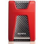 Hard Disk extern Adata DashDrive Durable HD650, 1 TB, 2.5 inch, USB 3.0, Rosu