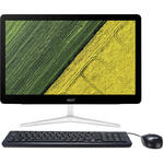 Sistem All in One Acer Aspire Z24-880, FHD, Intel Core i3-7100T, 4 GB, 128 GB SSD, Endless OS