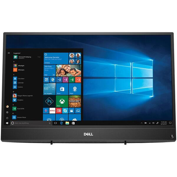 Sistem All in One Dell Inspiron 3480, FHD Touch, Intel Core i3-8145U, 8 GB, 1 TB, Microsoft Windows 10 Home