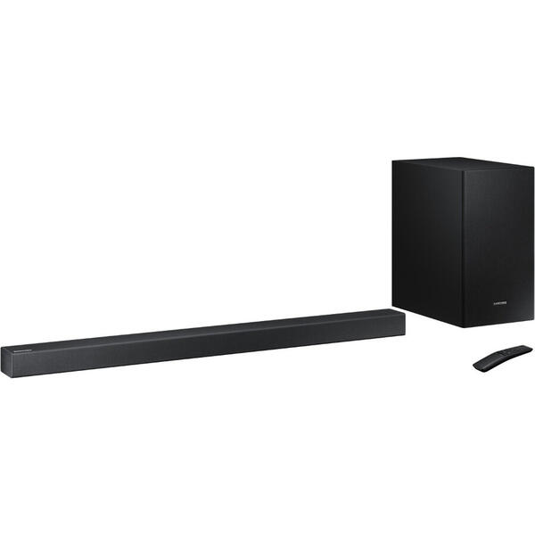 Soundbar Samsung HW-R430, 2.1 Canale, 170W, Wireless, Dolby Digital, Negru