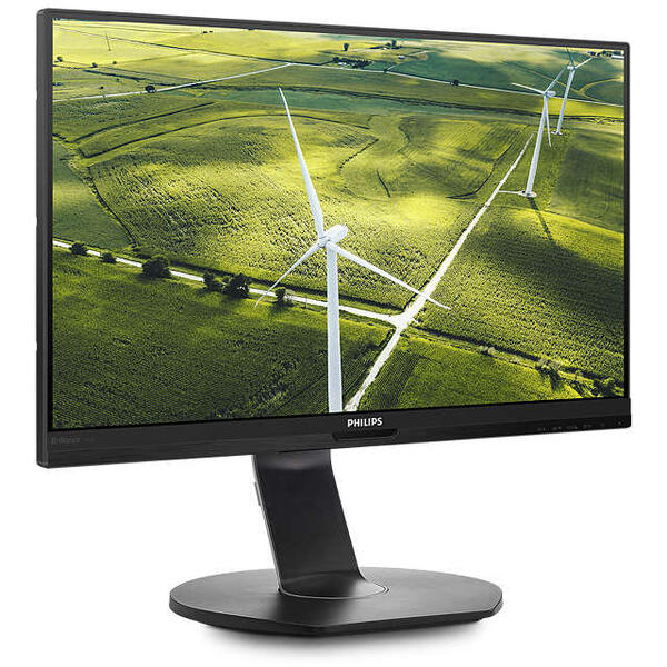Monitor Philips 241B7QGJEB, LED IPS, 23.8 inch, Full HD, 60 Hz, Negru
