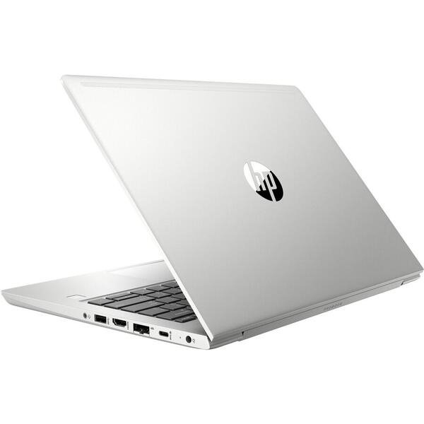 "Laptop HP ultraportabil ProBook 430 G6 cu procesor Intel® Core™ i3-8145U pana la 3.90 GHz, Whiskey Lake, 13.3"", Full HD, 4GB, 256GB SSD, Intel® UHD Graphics 620, Microsoft Windows 10 Pro, Silver"