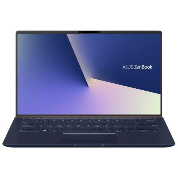Laptop Asus UX433FAC-A5175R, 14 inch, 8 GB, 512 GB SSD, GMA UHD, Win 10 Pro, Royal Blue