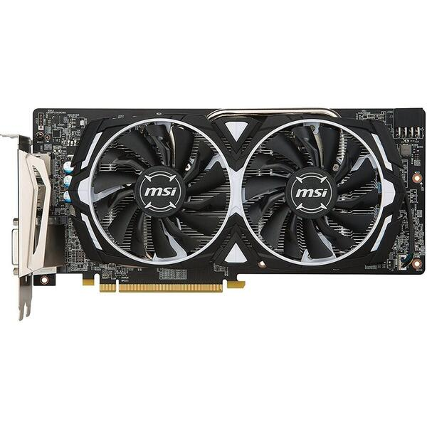 Placa video MSI Radeon RX 580 Armor OC, 8 GB DDR5, 256 bit