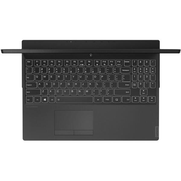 Laptop Lenovo 81SX00T4RM, 15.6 inch FHD, 16 GB DDR4, 512 GB SSD, NVIDIA GeForce RTX 2060 6GB, Free DOS, Black