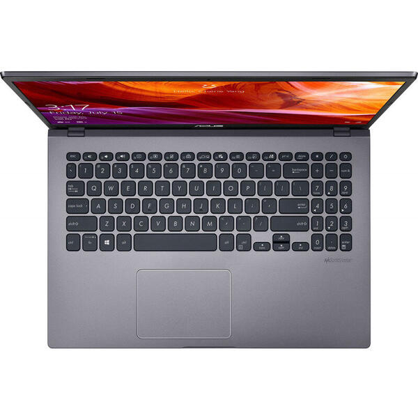 Laptop Asus X509FA-EJ081R, 15.6 inch, FHD, Procesor Intel Core i7-8565U (8M Cache, up to 4.60 GHz), 8GB DDR4, 512GB SSD, GMA UHD 620, Win 10 Pro, Argintiu