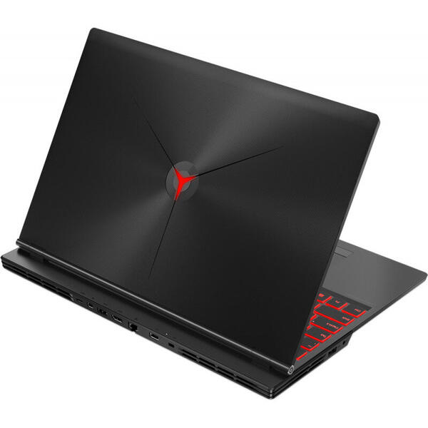 Laptop Lenovo 81T0000TRM, 15.6 inch FHD, 8 GB DDR4, 512 GB SSD, GeForce GTX 1650 4 GB, FreeDos, Black