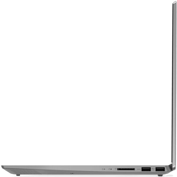 Laptop Lenovo 81W8003CRM, i5-1035G4, 15.6 inch, Full HD, 4 GB DDR4, 1 TB + 128 GB SSD, Intel Iris Plus, No OS, Platinum Grey