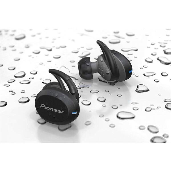 Casti Pioneer SE-E8TW-H, In-Ear Wireless, Negru