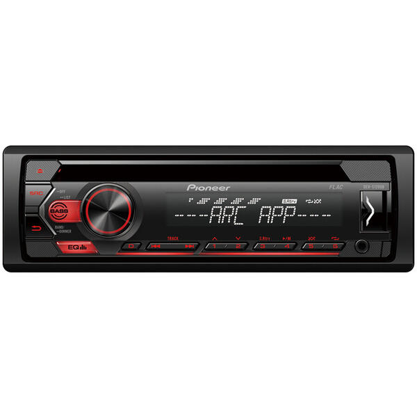 Player auto Pioneer DEH-S120UB, 4 x 50W, CD, FM, USB, Aux, Android, Negru