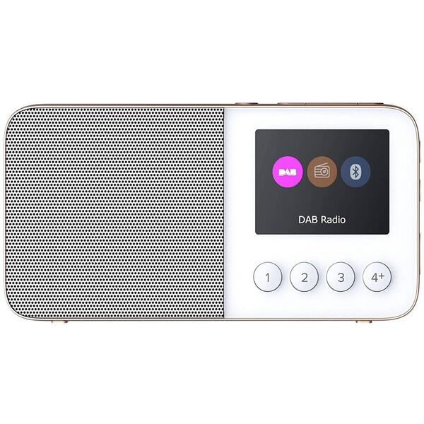 Radio Pure Move T4, Portabil, DAB+/FM, Bluetooth, Alb