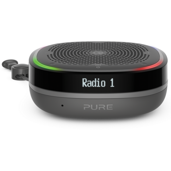 Radio Pure StreamR Splash, Portabil, DAB+/FM, Bluetooth, Gri