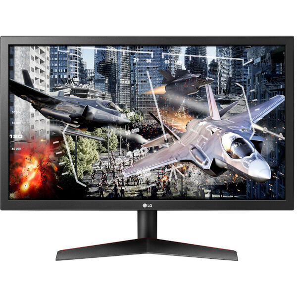 Monitor LG 24GL600F-B, LED, 23.6 inch, 1 ms, Negru