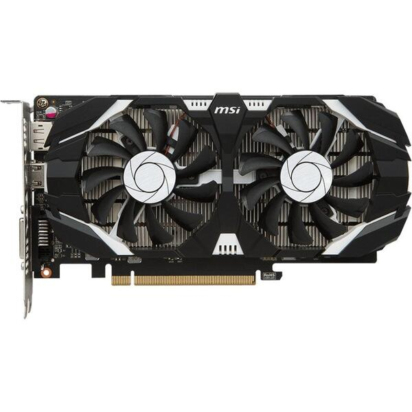 Placa video MSI GeForce GTX 1050 Ti 4GT OC, 4 GB GDDR5, 128 bit
