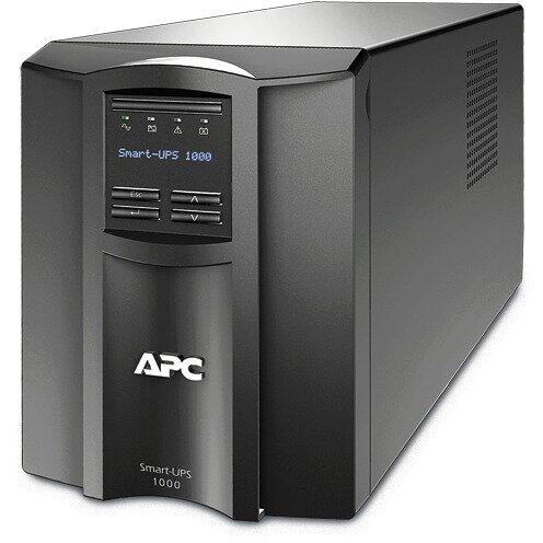 UPS APC BY SCHNEIDER ELECTRIC SMT1000IC, LCD, Smart Connect, Negru