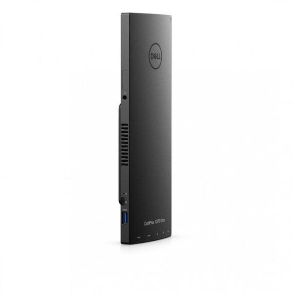 Sistem desktop Dell Optiplex 7070 UFF, Intel Core i7-8565U, RAM 16GB, SSD 512GB, Intel UHD Graphics 620, Linux