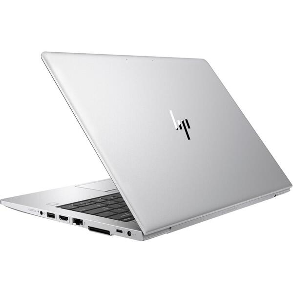 Laptop HP EliteBook 830 G6, Full HD, 13.3 inch, Intel Core i7-8565U (8M Cache, up to 4.60 GHz), 16GB DDR4, 512GB SSD, GMA UHD 620, Win 10 Pro, Silver