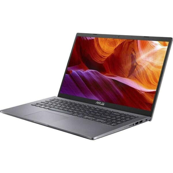 Laptop Asus X509JA, Full HD, 15.6 inch, Intel Core i7-1065G7 (8M Cache, up to 3.90 GHz), 8GB DDR4, 512GB SSD, Intel Iris Plus, No OS, Grey