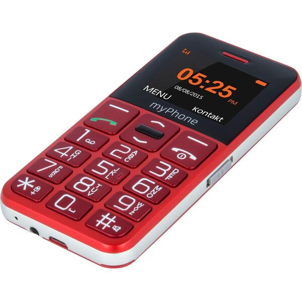 Telefon mobil myPhone Halo Easy, 2G, Red