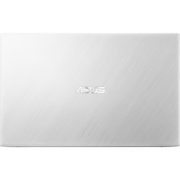 Laptop Asus VivoBook 15 X512JA, FHD, 15.6 inch, Procesor Intel Core i5-1035G1 (6M Cache, up to 3.60 GHz), 8GB DDR4, 512GB SSD, GMA UHD, No OS, Silver