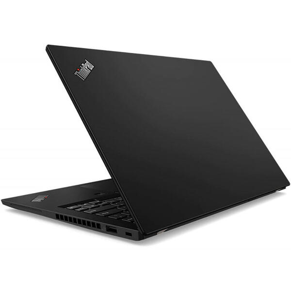 Laptop Lenovo ThinkPad X13 Gen 1, FHD, 13.3 inch, Procesor AMD Ryzen 7 PRO 4750U (8M Cache, up to 4.1 GHz), 16GB DDR4, 512GB SSD, Radeon, Win 10 Pro, Black