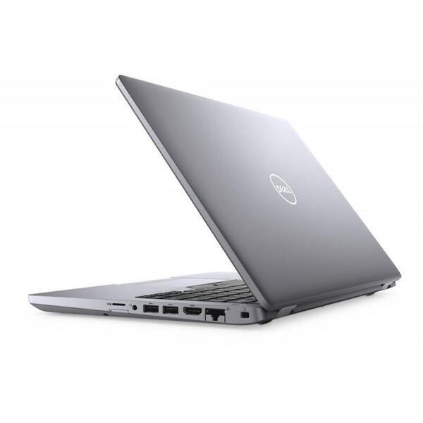 Laptop Dell Latitude 5410 (seria 5000), FHD, 14 inch, Procesor Intel Core i5-10210U (6M Cache, up to 4.20 GHz), 8GB DDR4, 512GB SSD, GMA UHD, Linux, Grey