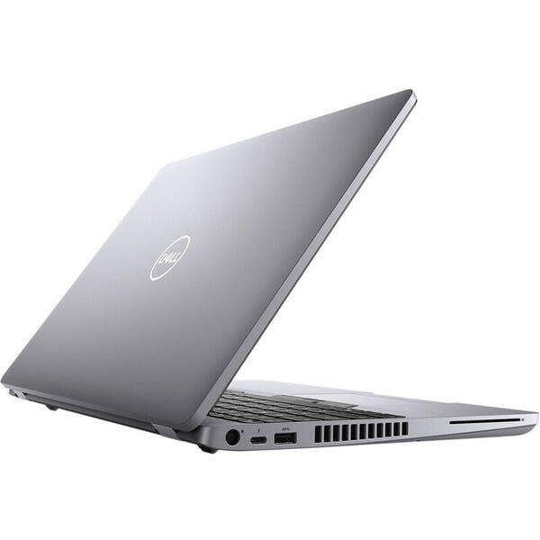 Laptop Dell Latitude 5510 (seria 5000), Full HD, 15.6 inch, Intel Core i5-10310U (6M Cache, up to 4.40 GHz), 8GB DDR4, 256GB SSD, GMA UHD, Win 10 Pro, Grey