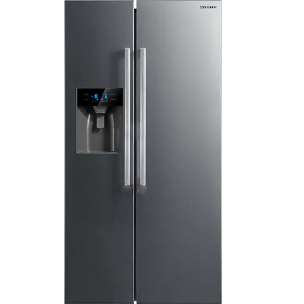 Side by side Vortex VO1028, No Frost, 520 l, H 176.5 cm, Clasa A++, Inox
