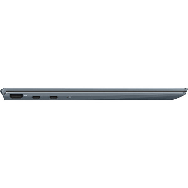 Laptop Asus ZenBook 13 UM325UA, 13.3 inch, OLED, Full HD, Touch NumPad, AMD Ryzen 5 5500U (8M Cache, up to 4.0 GHz), 8GB DDR4X, 512GB SSD, Radeon, Win 10 Home, Pine Grey