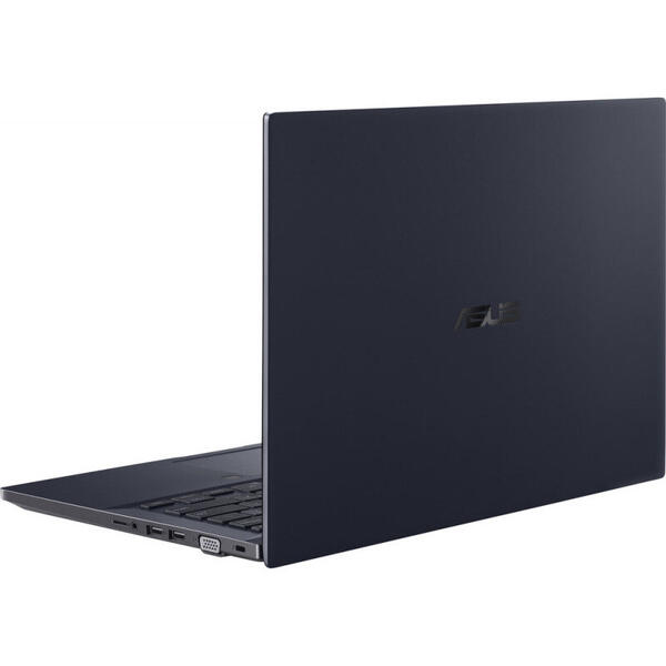 Laptop Asus ExpertBook P2 P2451FA, 14 inch, Full HD, Intel Core i5-10210U (6M Cache, up to 4.20 GHz), 8GB DDR4, 256GB SSD, GMA UHD, Win 10 Pro, Black