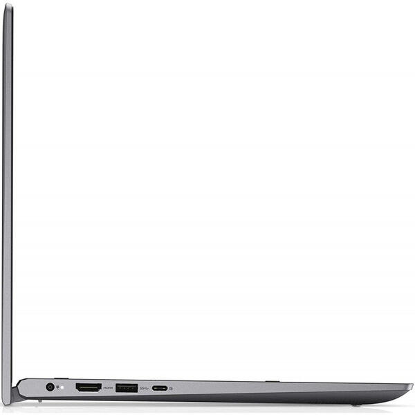 Laptop Dell Inspiron 5406, 14 inch, 2 in 1 Convertibil, Full HD, Touch, Intel Core i5-1135G7, 8GB DDR4, 512GB SSD, Intel Iris Xe, Win 10 Home, Titan Grey