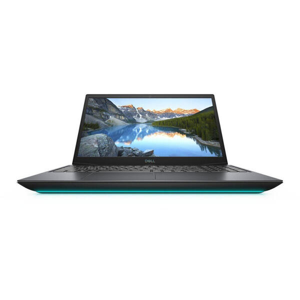 Laptop Dell G5 5500, Gaming, 15.6 inch, Full HD, Intel Core i5-10300H, 8GB DDR4, 512GB SSD, GeForce GTX 1650 Ti 4GB, Linux, Interstellar Dark